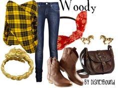 Woody outfit | Disneybound