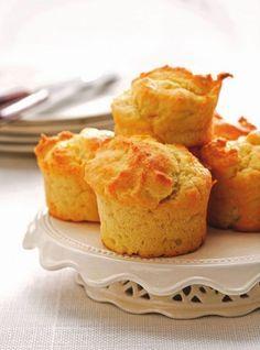 #Muffins au #parmesan