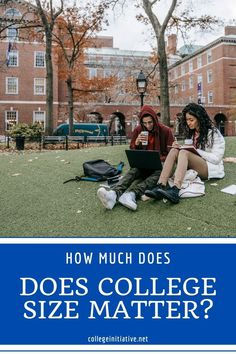 It is true that college size matters. A small college will feel very different than a large college. Find out which is right for your student. #highschool #parentingteens #collegesearch #collegeapplications #collegeadmission Florida Gulf Coast University, University Of Denver, Northwestern University, Senior Year Of High School, In High School, New College, College Life, High School Writing Prompts, Scholarships For College
