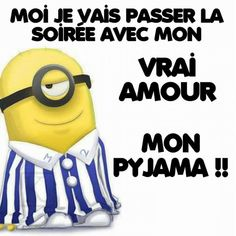 L'homme de ma vie <3 Funny Phrases, Funny Quotes, Funny Memes, Jokes, Minions Quotes, Despicable Me, Affirmations, Lol, Messages