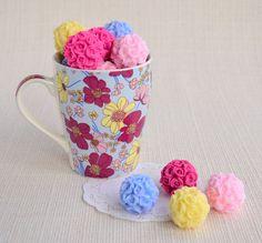 #flower #pomander #favors #soap