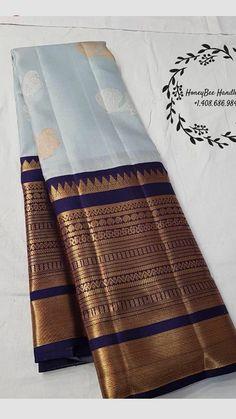 Wedding Dresses Indian Color Combinations Saree 39 Ideas For 2019 Kanjivaram Sarees Silk, Kanchipuram Saree, Pure Silk Sarees, Indian Bridal Sarees, Wedding Silk Saree, Saree Color Combinations, Indian Colours, Ethnic Sarees, Trendy Sarees