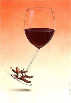 Pawel Kuczynski / wine effects