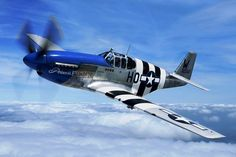 P-51 Mustang ''Princes Elizabeth.'' An early model before the famous bubble canopy redesign.