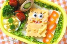 Spongebob. #bento