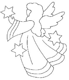 Image result for draw a christmas angel