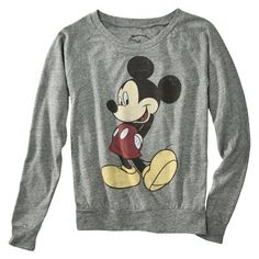 mickey mouse sweatshirt from target!