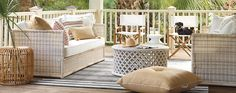Outdoor Lounge Furniture & Hanging Chairs | Serena & Lily