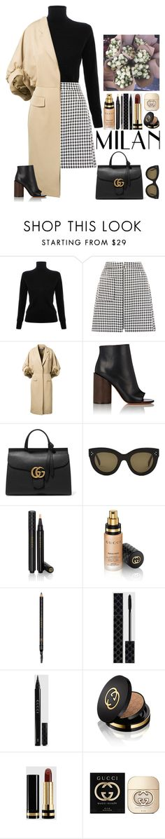 """""""Gucci."""" by noemiecalot ❤ liked on Polyvore featuring Victoria, Victoria Beckham, Givenchy, Gucci, CÉLINE, women's clothing, women, female, woman, misses and juniors"""