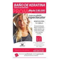 Super Promocion Consiente Tu Cabello Con El Bano De Keratina