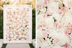 kim k wedding floral backdrop - Google Search