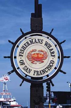 Fisherman's Wharf, San Francisco, CA.  Very crowded in summer.