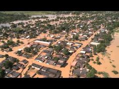03/05/2015 - Aerial footage of the flooding extent Rio Branco Acre, Brazil