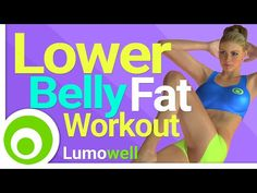 How To Get Rid Of Your Lower Belly Pooch - YouTube