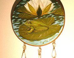 Once Upon  a Pond  Handmade Item- $79.00