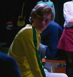 Tarjei Sandvik com camisa do brasil em peça de teatro ❤️❤️ #Skam