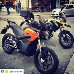 Instagram picutre by @fuelrfuture: #Repost @emoveme with @repostapp.  #Spring is the perfect #Season for #colourful bikes!  #ZeroDS #ZeroMotorcycles #ElectricBike #Ebike #ElectricMotorcycle #EMotorcycle #ElectricMobility #Emobility #BMW #BMWGS #Motorrad #Emoveme #TheBestMoveYouCanMake - Shop E-Bikes at ElectricBikeCity.com (Use coupon PINTEREST for 10% off!)