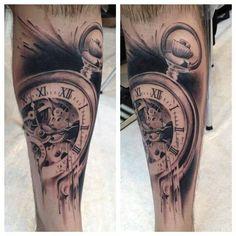 Timepiece tattoo