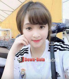fans cewek real madrid | gadis bola | soccer girl | bola net | dewabola.club