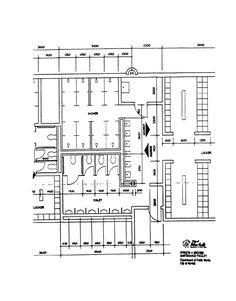Walk In Closet Floor Plans Home Design Ideas. Wc Design, Toilet Design, Layout Design, Locker Room Bathroom, Wc Public, Toilet Plan, Gym Plans, Remodeling Costs, Restroom Design