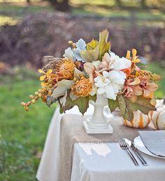 A brilliant floral focal point.
