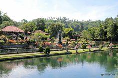 vroegere koninklijk waterpaleis Tirta Ganga Oost Bali
