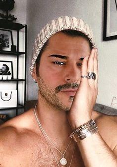 Handsome Arab Men, Handsome Boys, Perfect Man, A Good Man, Bridal Henna Designs, Burak Ozcivit, Hairy Men, Turkish Actors, Mustache