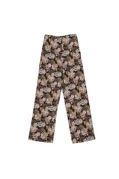 Made from vintage tapestry inspired rose jacquard, the Varsa pants are cut to sit high on the waist. This slightly wide-leg pair falls to a cropped length that's perfect both with casual flats or statements pumps. Wide Leg, Pajama Pants, Casual, How To Wear, Tapestry, Pumps, Flats, Shopping, Inspired