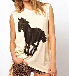 Estampa de cavalo