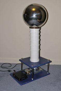 Picture of 500,000 volt Van de Graaff Generator Using Cheap Parts