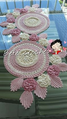 Crochet Table Runner Pattern, Crochet Bedspread Pattern, Free Crochet Doily Patterns, Crochet Tablecloth, Crochet Motif, Crochet Mask, Crochet Dollies, Thread Crochet, Crochet Leaves