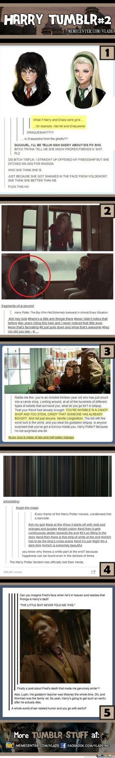 Harry Potter Tumblr #2 by Vlade harry potter fandom has finally lost their minds