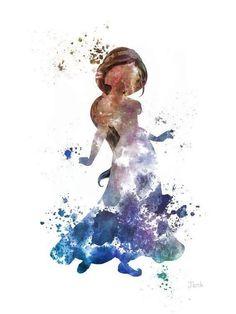 Princesse Jasmine, Aladdin ART PRINT 10 x illustration, Disney, technique… Disney Magic, Disney Pixar, Disney Animation, Disney Marvel, Disney Amor, Walt Disney, Disney Fan Art, Disney And Dreamworks, Disney Movies