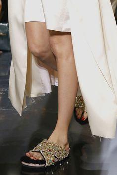 Céline fur slippers 2013 2014 online price