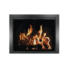 The Madison Masonry Fireplace Door | Masonry Fireplace Glass Doors ...