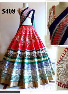 VandV Latest Designer Banglori Lehenga With Beautiful Lace Work @Rs.2900 #Latest #Fancy #Designer #Gorgeous #Wedding #LehengaCholi