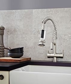 Kitchen wall tiles are perfect to add character to your cooking space. Whether it's a feature splashback or a simple border, there is something for everyone in our collection of kitchen wall tiles. Black Tiles, Grey Tiles, Pompeii, Wall And Floor Tiles, Wall Tiles, Bathroom Wall, Small Bathroom, Family Bathroom, Bathroom Ideas