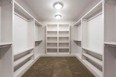 Factor(e) House 1 modern-closet Closet Redo, Bedroom Closet Design, Closet Remodel, Master Bedroom Closet, Wardrobe Closet, Closet Designs, Closet Storage, Walk In Closet, Basement Closet