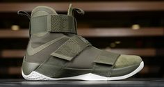 """Nike LeBron Soldier 10 Lux """"Olive Green"""""""