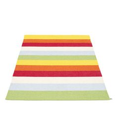 Tapis Pappelina MOLLY - grand tapis avec ourlet - multi