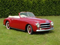 1950 Simca 8 1200 Sports Convertible Pininfarina