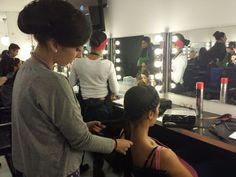 #Peluquería en el Curso de maquillaje profesional de 10 meses — en Colors-Up Escuela de Maquillaje Profesional.