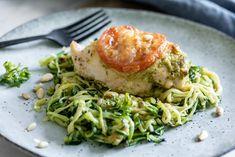 Mozzarella, Spaghetti, Chicken, Dinner, Ethnic Recipes, Food, Dining, Food Dinners, Essen
