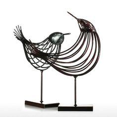 Contemporary Wire Birds