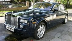 Rolls-Royce Phantom (2003-present). Heaviest current production car: 6,052 lb.