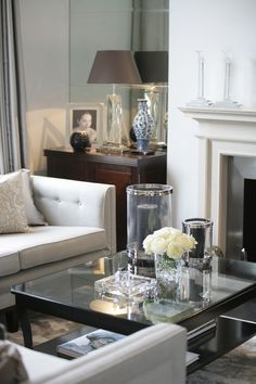 Lounge detail. Photography for Katharine Pooley Interiors London