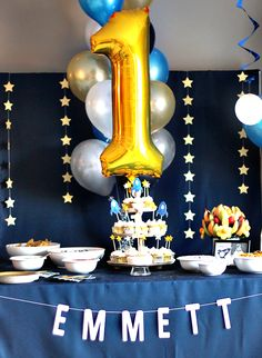 Some of you may remember the big sparkly gold and pink themed first birthday  party I threw for Essley two years ago. It was probably ...