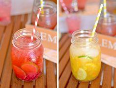 ¡Por fin ha llegado el verano! Y, para celebrarlo, os traigo varias recetas de bebidas veraniegas , a cada cual mejor: agua de frutas, sang...