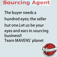 #sourcing agent