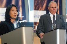 Keiko y PPK debatieron sobre seguridad ciudadana.